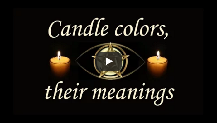 Candle colors, their meanings